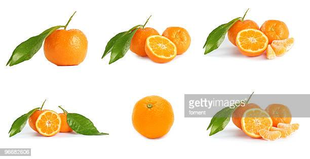 Mandarine (tangerines) collage