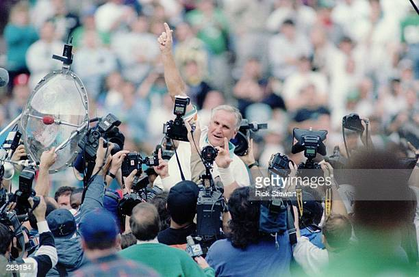 SHULA''S 325TH MAKING HIM THE WINNINGEST COACH IN NFL HISTORY Mandatory Cred