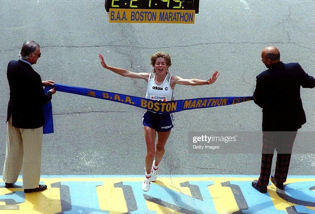BOSTON MARATHON : News Photo
