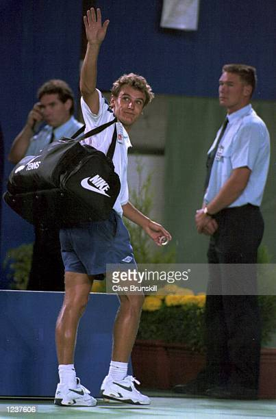 IN THE FOURTH ROUND OF THE AUSTRALIAN OPEN TENNIS TOURNAMENT IN MELBOURNE WASHINGTON WON 67 62 67 64 61 Mandatory Credit Clive Brunskill/ALLSPORT