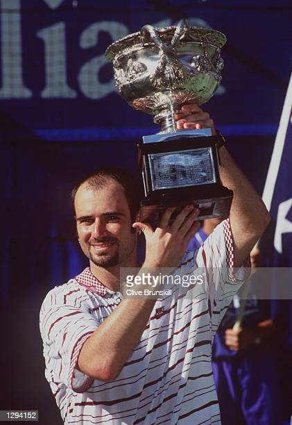64 TO WIN THE MENS FINAL AT THE 1995 AUSTRALIAN OPEN AT FLINDERS PARK IN MELBOURNE Mandatory Credit Clive Brunskill/ALLSPORT