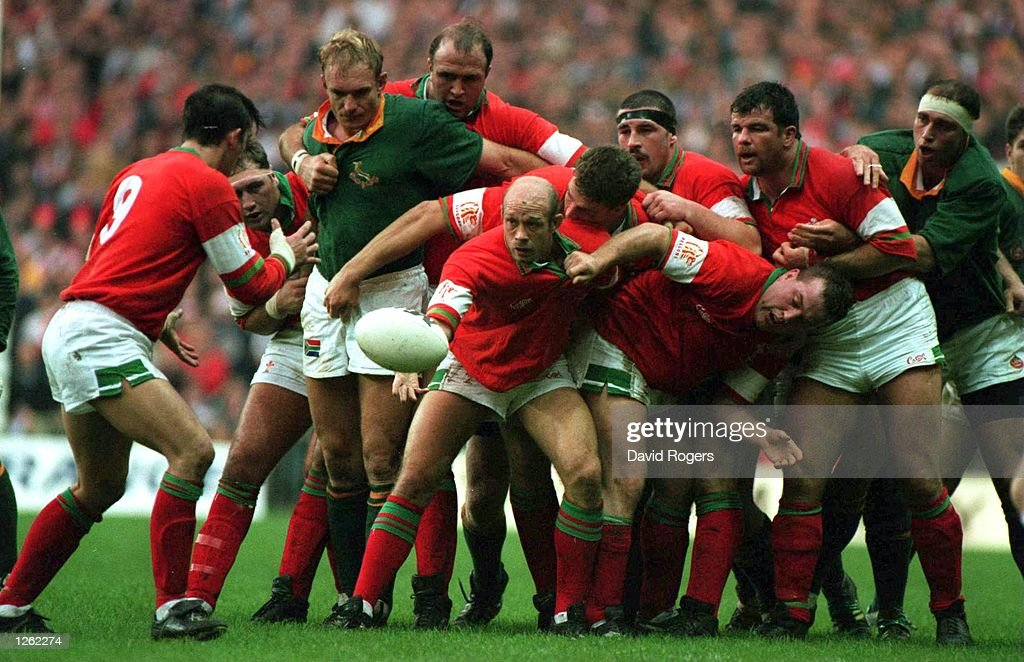 WALES V SOUTH AFRICA : News Photo