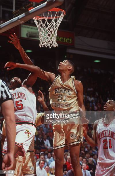 MARYLAND''S JOHNNY RHODES AS MARIO LUCAS LOOKS ON DURING MARYLAND''S 8158 WIN AT COLE FIELDHOUSE IN COLLEGE PARK MARYLAND Mandatory Credit Doug...