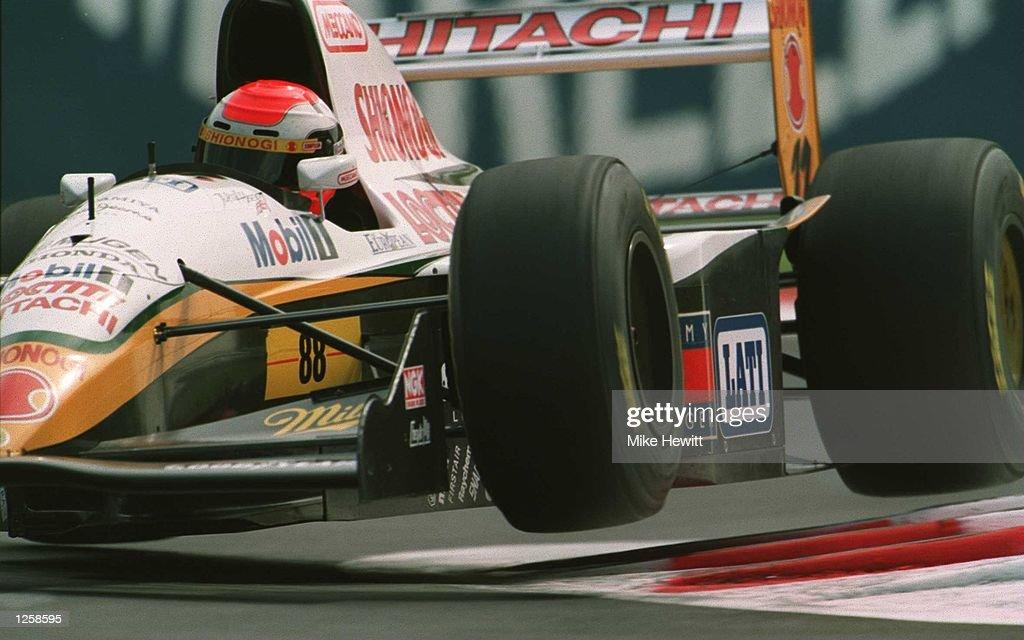ITALIAN GP HERBERT : News Photo
