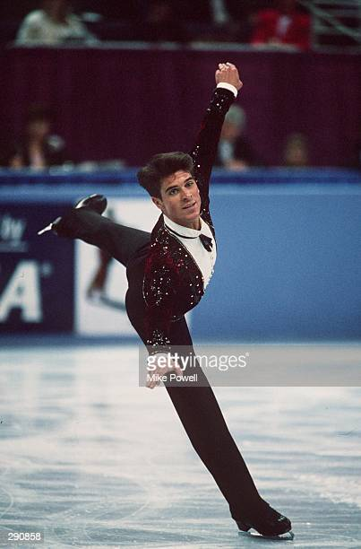 PERFORMS HIS LONG PROGRAM AT THE 1993 US NATIONAL FIGURE SKATING CHAMPIONSHIPS IN PHOENIX AZ Mandatory Credit Mike Powell/ALLSPORT