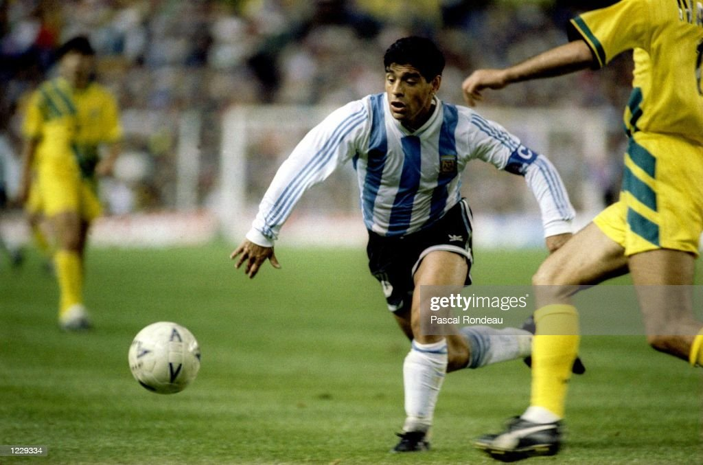 DIEGO MARADONA ARG : News Photo