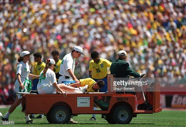 BRAZIL''S 20 VICTORY OVER RUSSIA DURING THE 1994 WORLD CUP GAME AT THE STANFORD STADIUM IN PALO ALTO CALIFORNIA Mandatory Credit Shaun...
