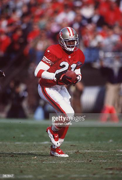TEAM''S 4219 VICTORY OVER THE DENVER BRONCOS AT CANDLESTICK PARK THE BALL WAS RULED AN INCOMPLETE PASS Mandatory Credit Stephen Dunn
