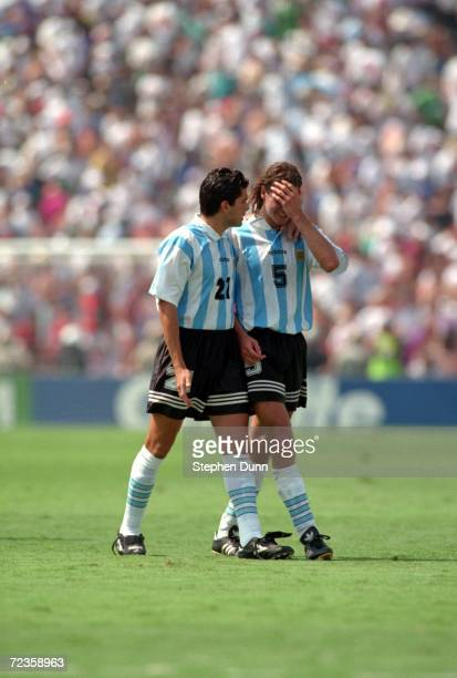 S 32 LOSS TO ROMANIA IN A SECOND STAGE 1994 WORLD CUP MATCH AT THE ROSE BOWL IN PASADENA CALIFORNIA Mandatory Credit Stephen Dunn/AL