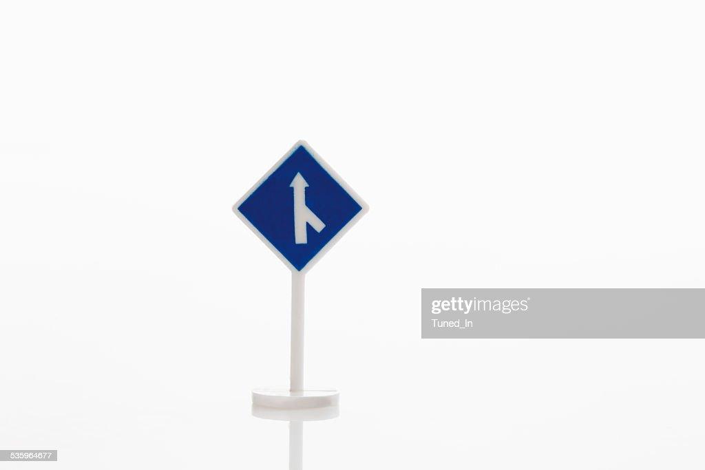 Mandatory-sign on white background : Stock Photo