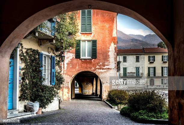 Mandello village historical center Lake Como Lombardia Italy Europe Photo by Carlo Borlenghi/REDACO/Universal Images Group via Getty Images