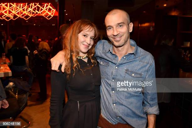 Mandie Erickson and Alex Lasky attend Stephen Petronio Company 2018 Gala honoring Patricia Field and Sylvia Drulie Mazzola at Kola House on March 21...