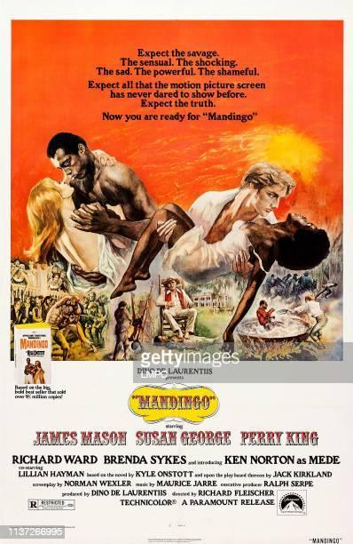 Mandingo poster US poster art from left Susan George Ken Norton Perry King Brenda Sykes James Mason 1975
