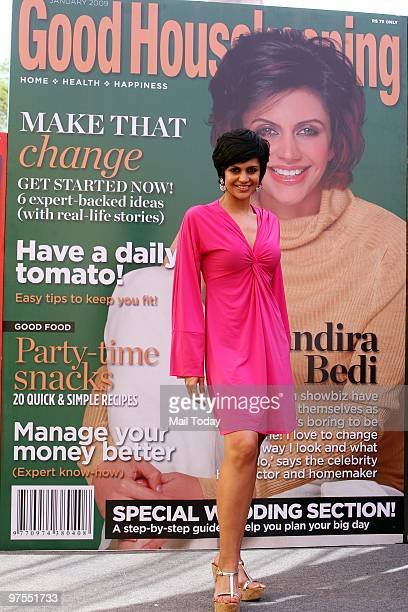 c783e1bd5a Mandira Bedi at the Good Housekeeping show in New Delhi on March 5 2010