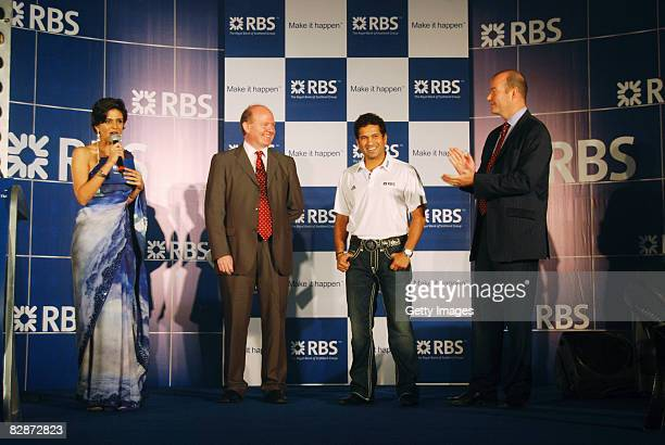 MC Mandiri Bedi RBS Global Ambassador John McCormick Chief Executive Asia Pacific GBM Sachin Tendulkar and John Baines Chief Executive RBS Asia and...