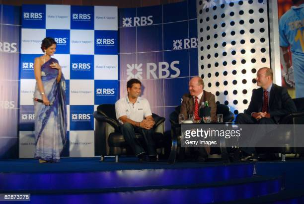 MC Mandiri Bedi Sachin Tendulkar RBS Global Ambassador John McCormick Chief Executive Asia Pacific GBM and John Baines Chief Executive RBS Asia and...