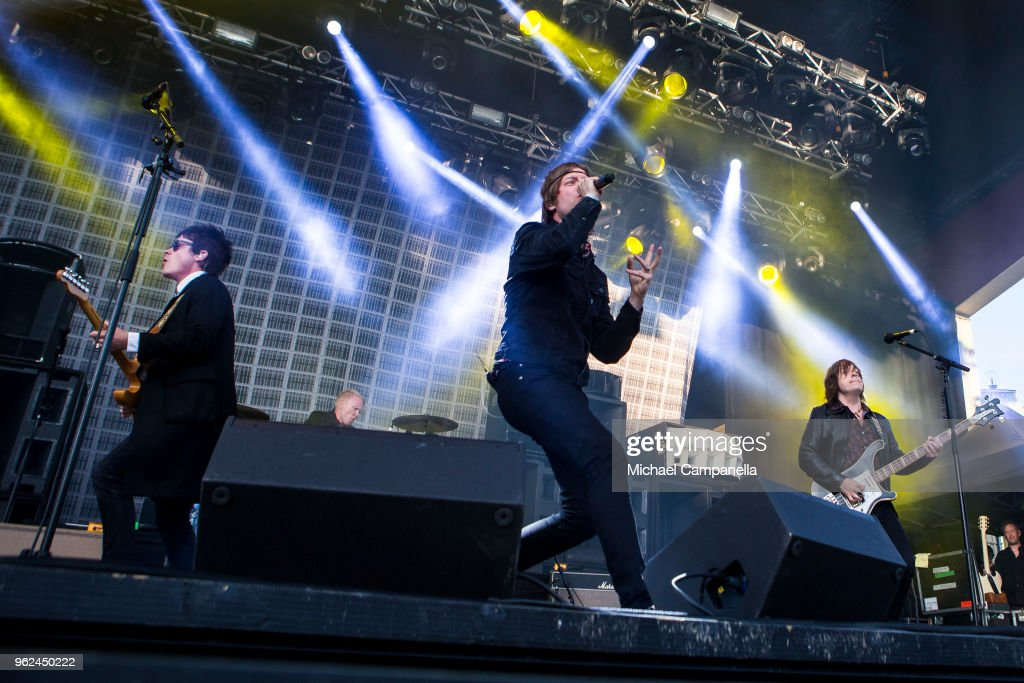 Mando Diao Performs in Concert in Stockholm