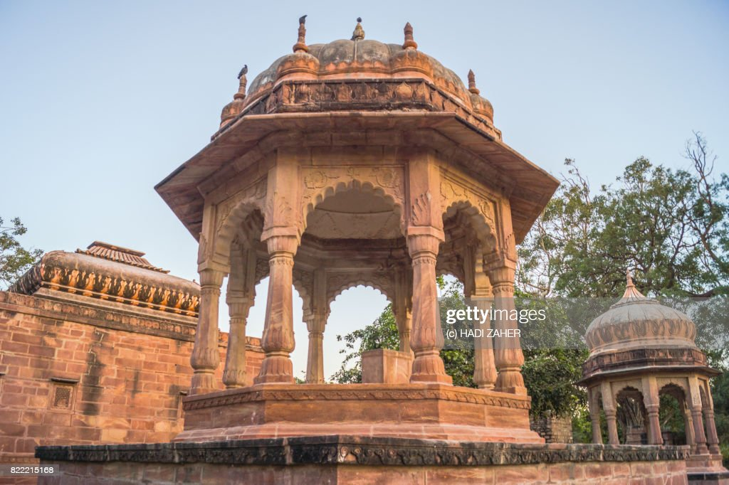 Mandore Garden Temples and Cenotaphs | Jodhpur | Rajasthan | India : Stock Photo