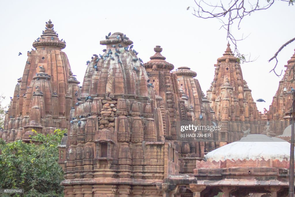 Mandore Garden Temples and Cenotaphs | Jodhpur | Rajasthan | India : Stock Photo