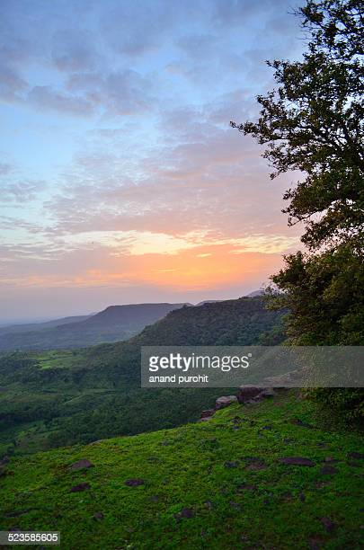 mandu, sunset point view, madhya pradesh - madhya pradesh stock pictures, royalty-free photos & images