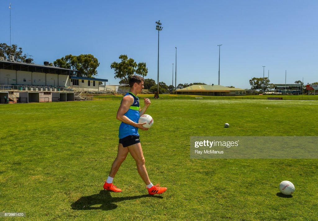 Mandurah , Australia - 14 November 2017; Shane Walsh before Ireland International Rules Squad training at Bendigo Bank Stadium, Mandurah, Australia.
