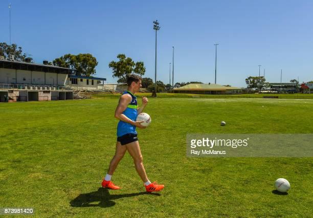 Mandurah Australia 14 November 2017 Shane Walsh before Ireland International Rules Squad training at Bendigo Bank Stadium Mandurah Australia