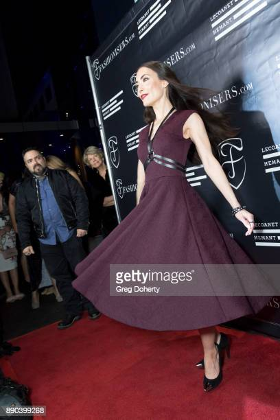 Mandy Amano attends the Fashioniserscom Presents The Los Angeles Debut Of Lecoanet Hemant At One Night In Paris at Sofitel Hotel on December 10 2017...