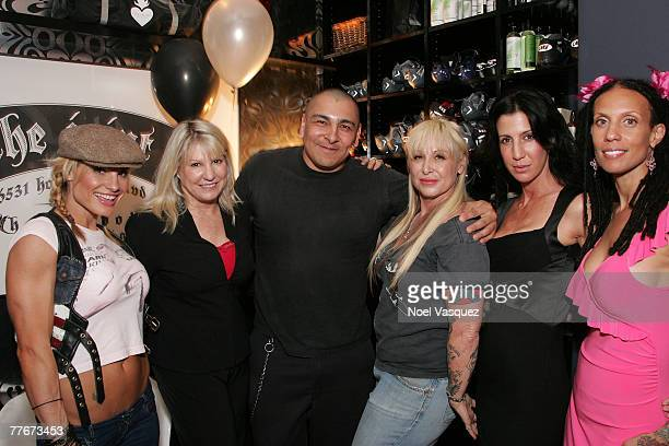 Mandy Blank Dr Lois Lee Andrea Lawent Frankie Loyal Syndey Sloan and Stevie attends the Joint Fitness one year anniversary celebration and charity...