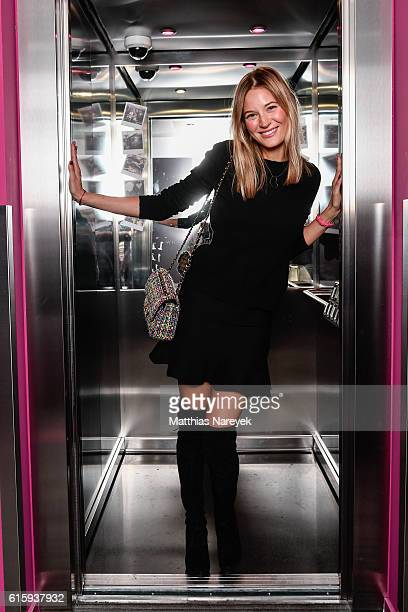 Mandy Bork attends the Moxy Berlin Hotel Opening Party on October 20, 2016 in Berlin, Germany.