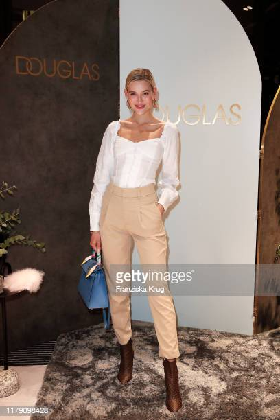 Mandy Bork during the Douglas Store Opening at Unter den Linden on October 30 2019 in Berlin Germany