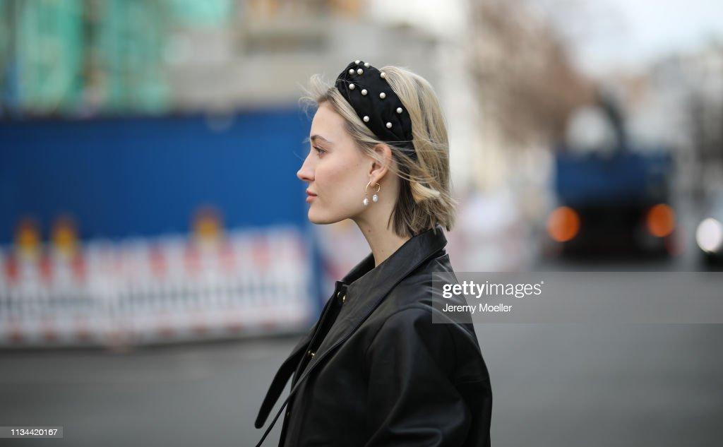 Street Style - Berlin - March 07, 2019 : News Photo