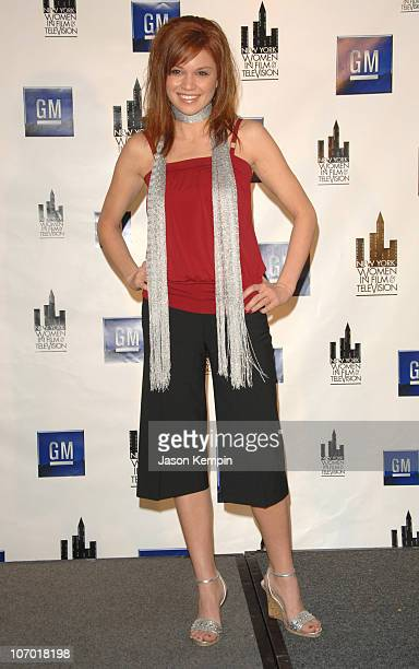 Mandy Bruno during The New York Women in Film and Television's 26th Annual Muse Awards December 14 2006 at The New York Hilton in New York City New...