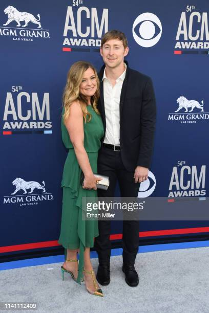 Mandy Gorley and Ashley Gorley attend the 54th Academy Of Country Music Awards at MGM Grand Garden Arena on April 07 2019 in Las Vegas Nevada