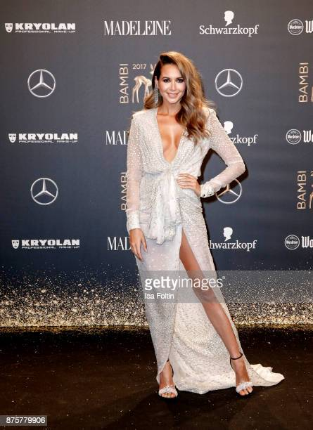 Mandy Grace Capristo arrives at the Bambi Awards 2017 at Stage Theater on November 16 2017 in Berlin Germany