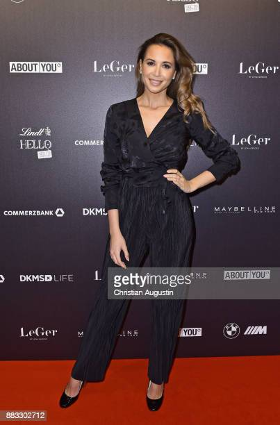 Mandy Grace Capristo attends the Christmas Dinner Party of Lena Gercke at the Bar Hygge on November 30 2017 in Hamburg Germany