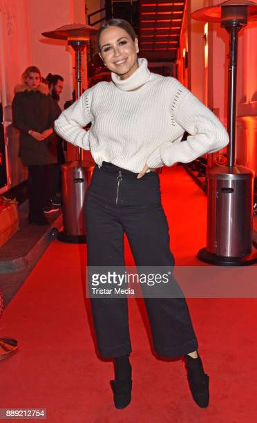 Mandy Grace Capristo attends the Ein Herz Fuer Kinder Gala 2017 After Show Party at Borchardt Restaurant on December 9 2017 in Berlin Germany