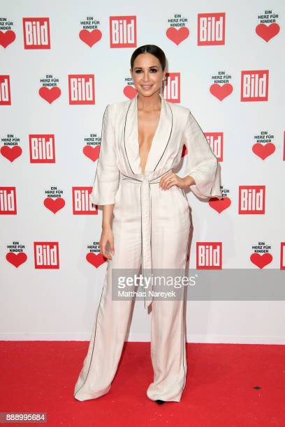 Mandy Grace Capristo attends the Ein Herz Fuer Kinder Gala at Studio Berlin Adlershof on December 9 2017 in Berlin Germany