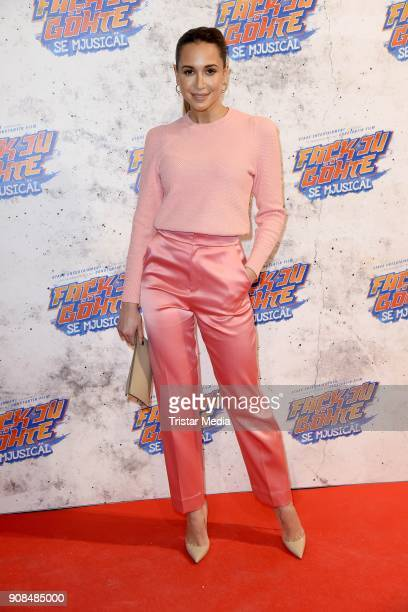 Mandy Grace Capristo attends the 'Fack ju Goehte Se Mjusicael' Musical Premiere on January 21 2018 in Munich Germany