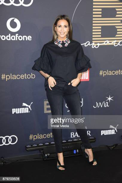 Mandy Grace Capristo attends the Place To B Influencer Award at Axel Springer Haus on November 25 2017 in Berlin Germany