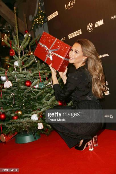 Mandy Grace Capristo during Lena Gerckes Christmas Dinner Partyat Hygge on November 30 2017 in Hamburg Germany