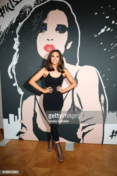 Mandy Grace Capristo during the Kiss New York launch at Kustermann Kochschule on April 19 2018 in Munich Germany