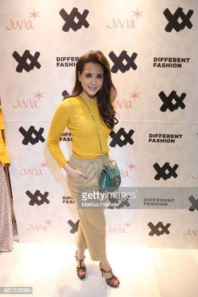 Mandy Grace Capristo poses during the Different Fashion store opening on March 23 2017 in Hamburg Germany