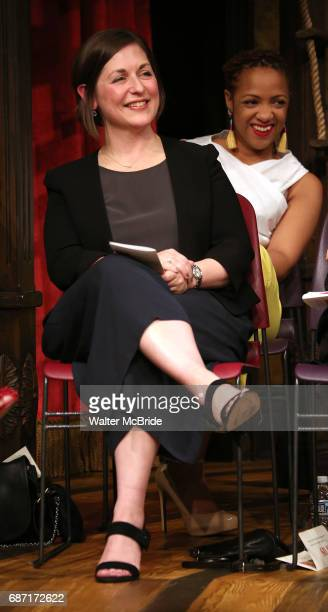 Mandy Greenfield on stage at the 2017 The Lilly Awards at Playwrights Horizons on May 22 2017 in New York City