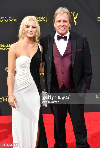 Mandy Hansen and Sig Hansen attend the 2019 Creative Arts Emmy Awards on September 14 2019 in Los Angeles California