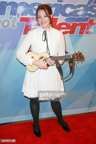 Mandy Harvey attends NBC's 'America's Got Talent' Season 12 Live Show at Dolby Theatre on August 22 2017 in Hollywood California
