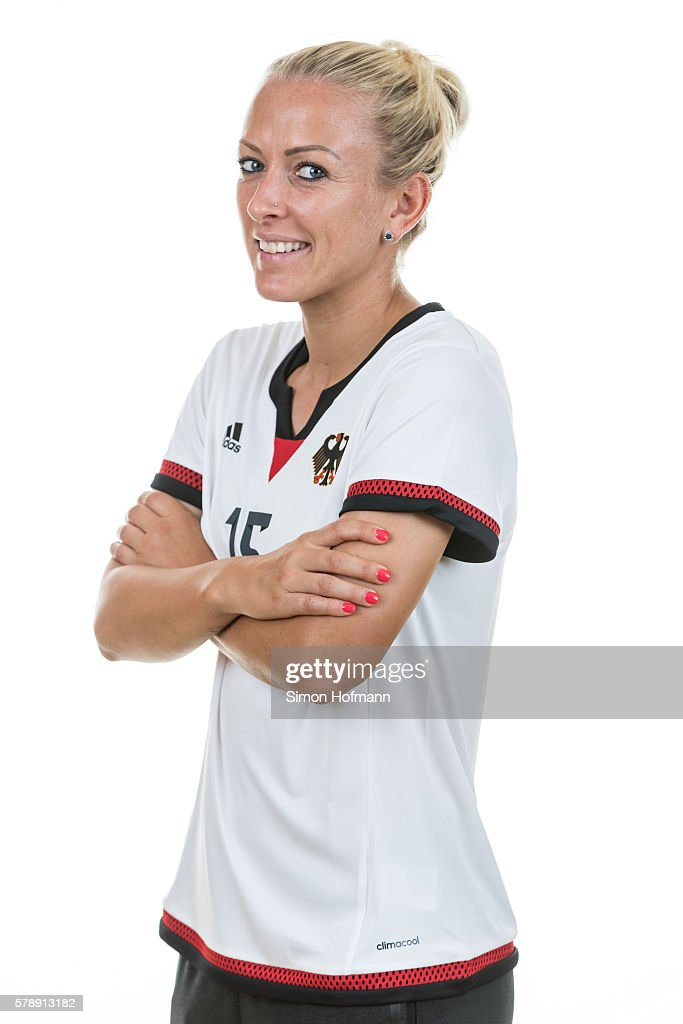 Mandy Islacker poses during Germany Women's Team Presentation on July 19, 2016 in Paderborn, Germany.