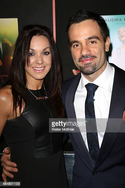 Mandy Karimloo and Ramin Karimloo attend the Broadway Opening Night Performance of Lady Day at Emerson's Bar Grill at Circle in the Square Theatre on...