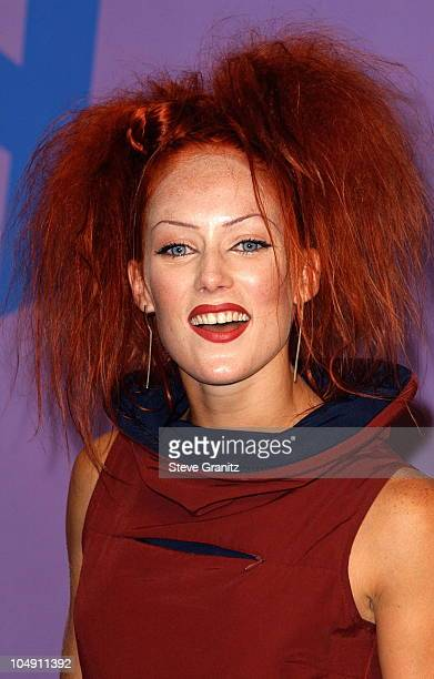 Mandy Lauderdale during The 2001 Teen Choice Awards Press Room at Universal Amphitheater in Universal City California United States