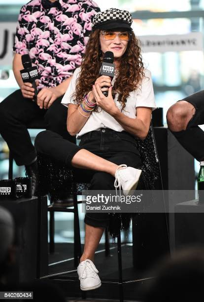 Mandy Lee of MisterWives attends the Build Series to discuss the latest album 'Connect the Dots' at Build Studio on August 28 2017 in New York City