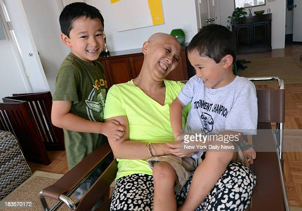 Mandy ManocchioPutney with her two boys Trey Putney 6 Kai Putney 5 ManocchioPutney went to the hospital with a UTI infection and was kept for six...